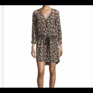 Veronica Beard tribal print high low dress